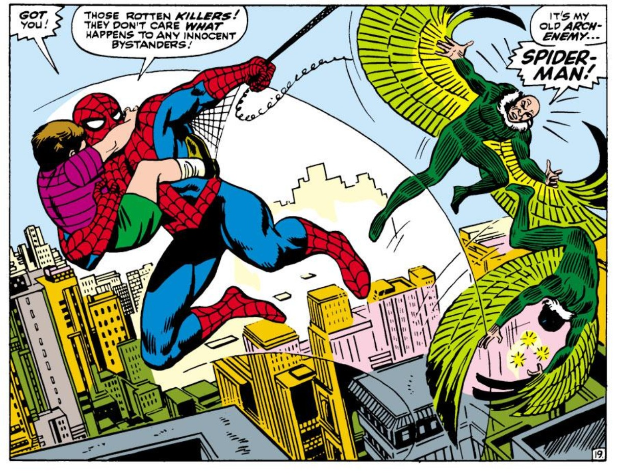 Remembrance Of Comics Past Amazing Spider Man 63