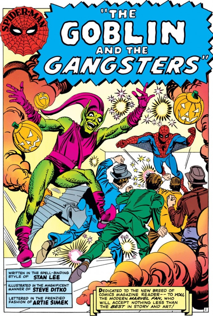Image from Amazing Spider-Man #23: Stan Lee & Steve Ditko