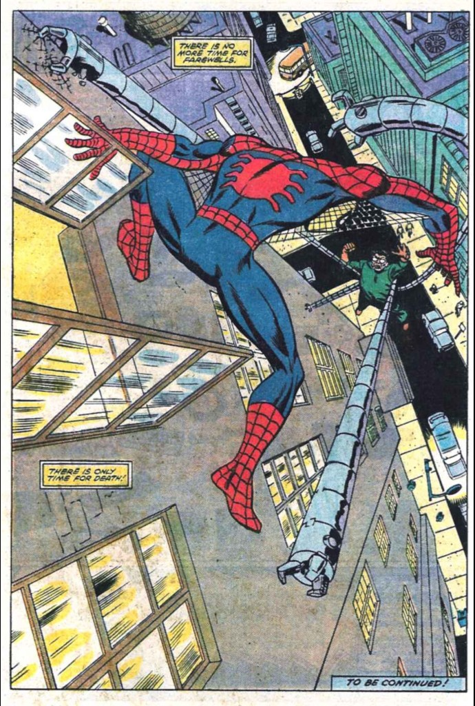Image from Spectacular Spider-Man #78: Al Milgrom (pencils) & Jim Mooney (inks)