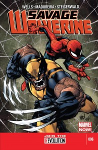 Savage Wolverine 6 cover