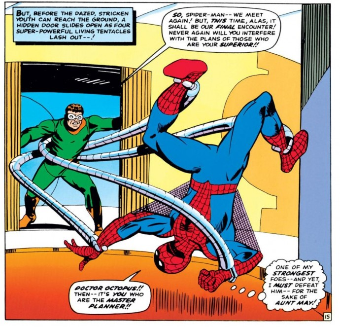 Image from Amazing Spider-Man #32: Stan Lee & Steve Ditko