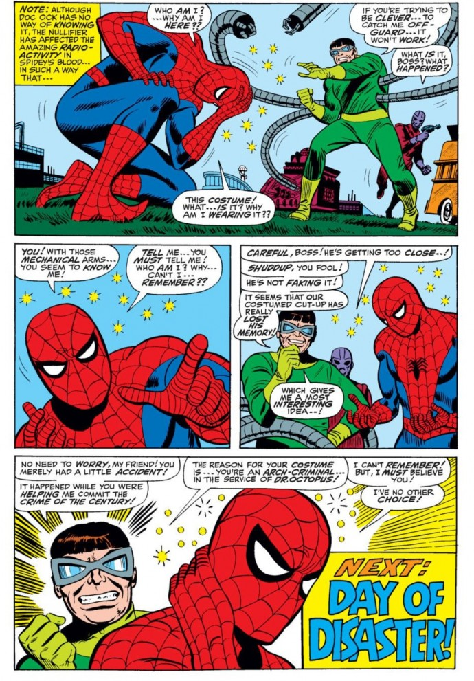 Image from Amazing Spider-Man #55: Stan Lee, John Romita Sr. & Mickey Demeo