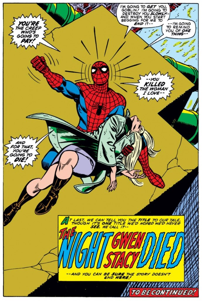 From Amazing Spider-Man #121