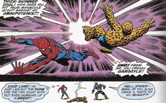 That Time Spider-Man Beat Thanos