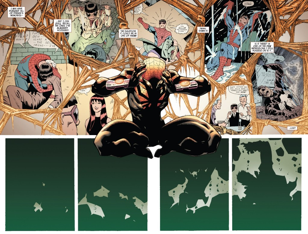 """Ghost Peter"" returns in Superior Spider-Man #19"