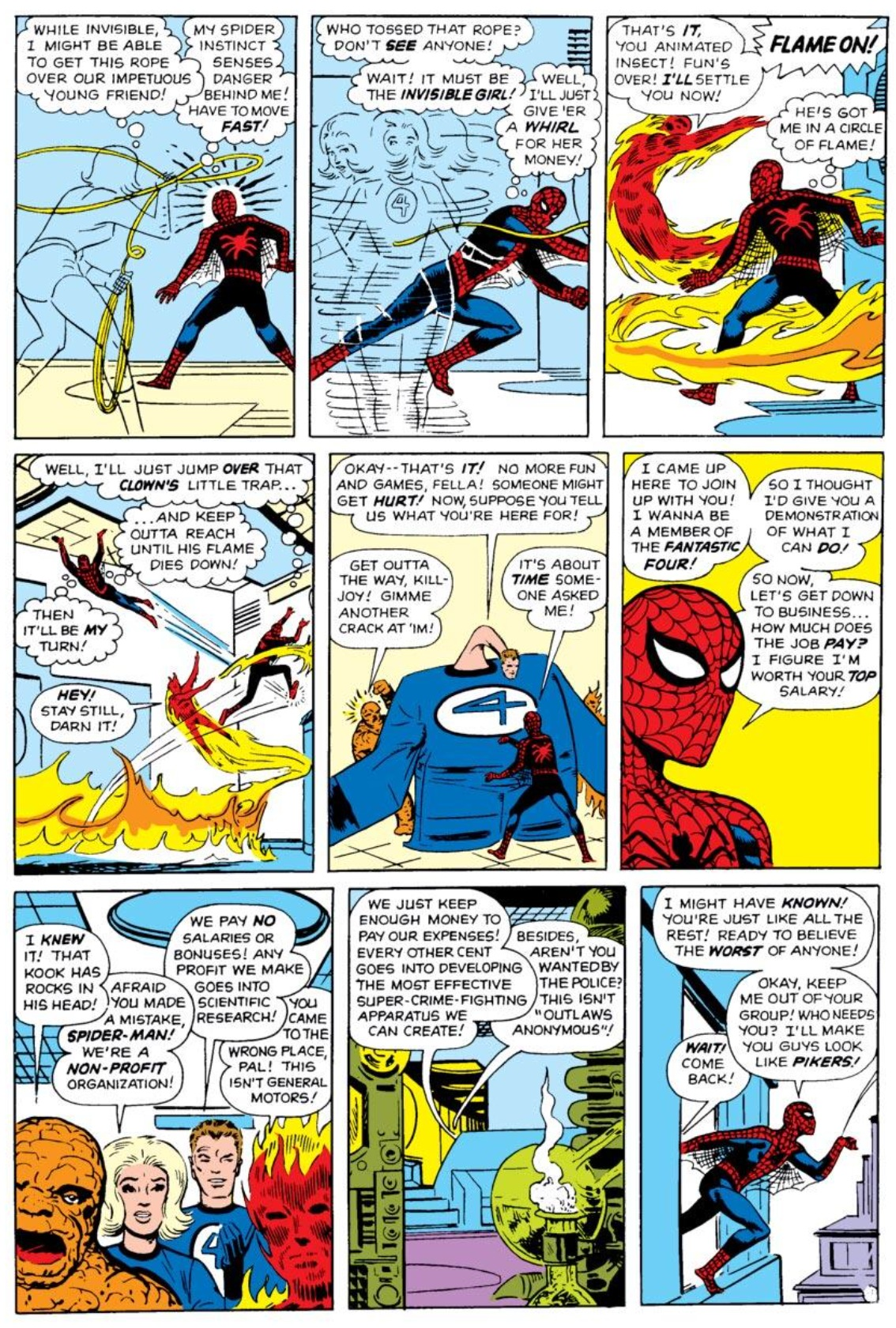 FANTASTIC FOUR #11-LGY #656-ANACLETO SPIDER-MAN Variant