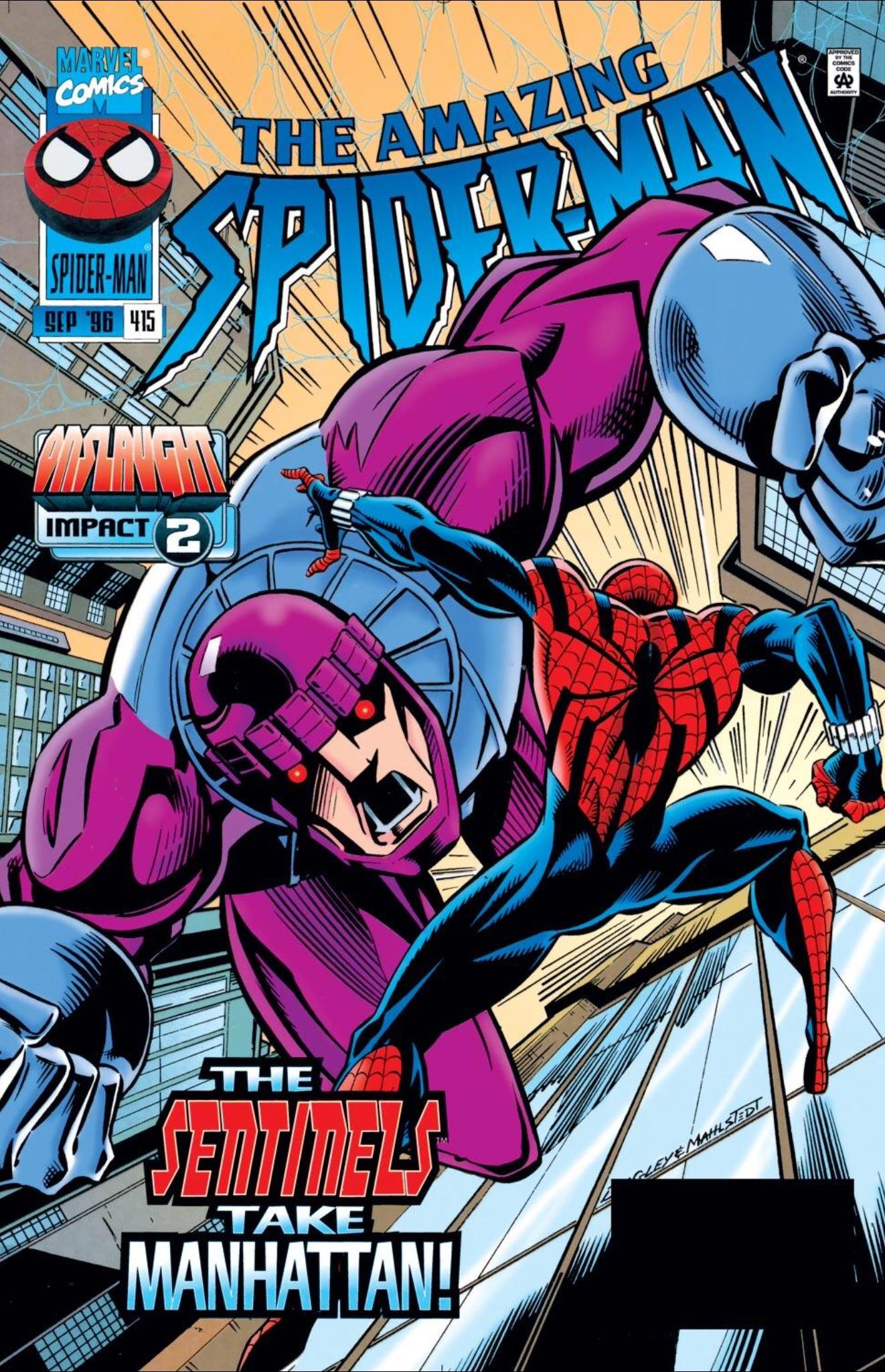 The Darkest Timeline Spider Men Vs The Sentinels