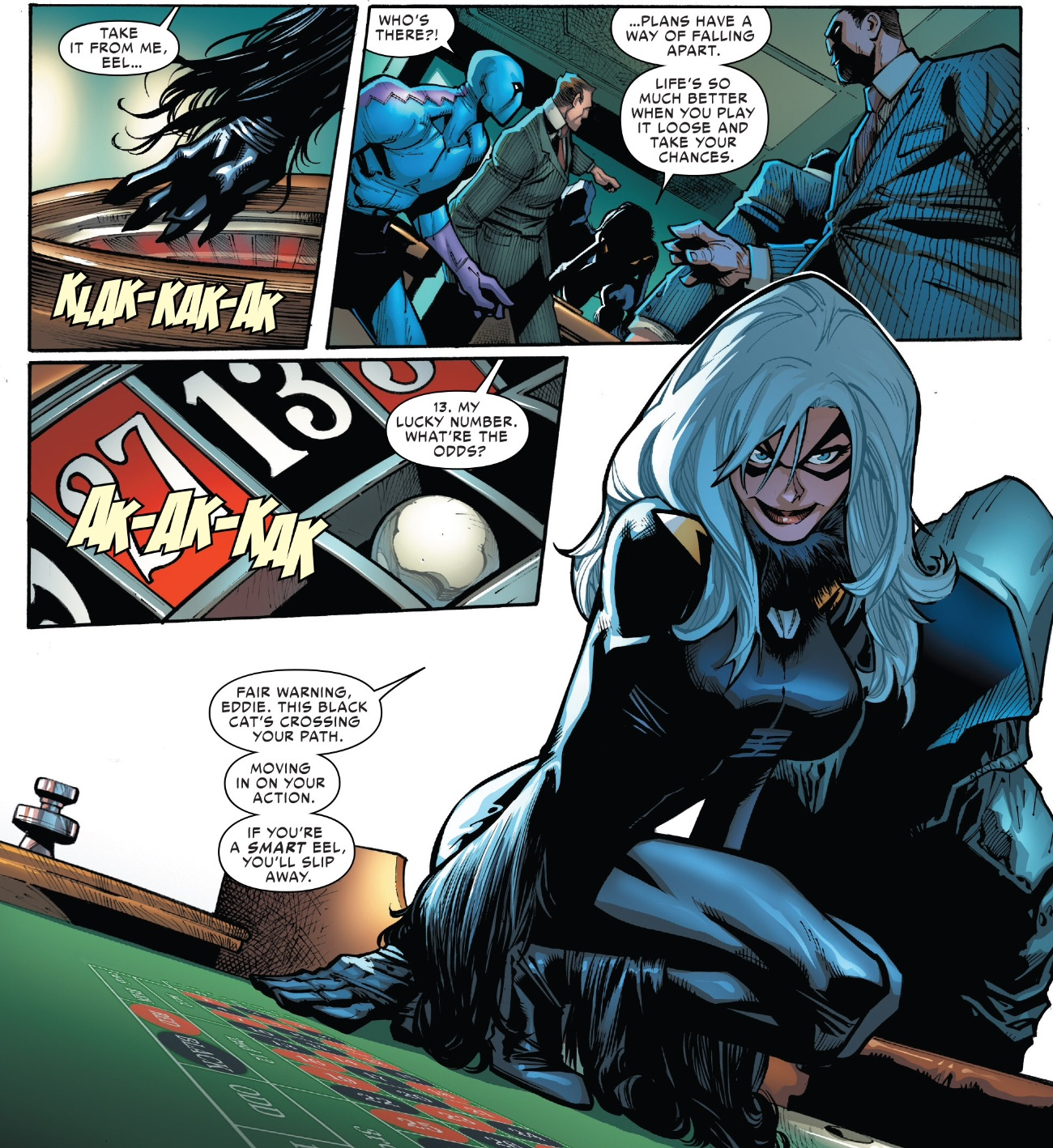 Amazing Spider-Man #5: It is What It is The Amazing Spider Man 3 Black Cat