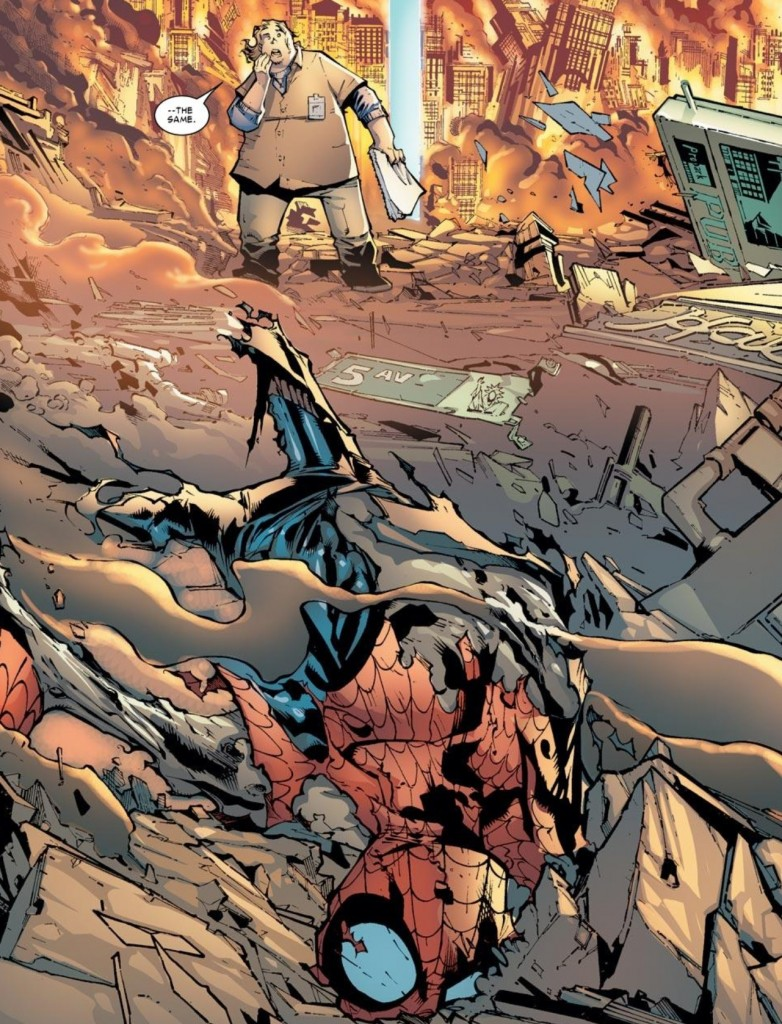 Spider-Man finds disaster in the future in Amazing Spider-Man #679
