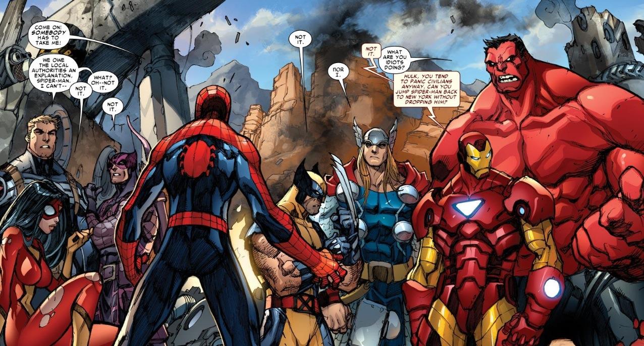 how to create a superhero team
