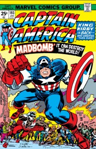 Captain America 193 cover