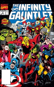 Infinity Gauntlet 3 cover