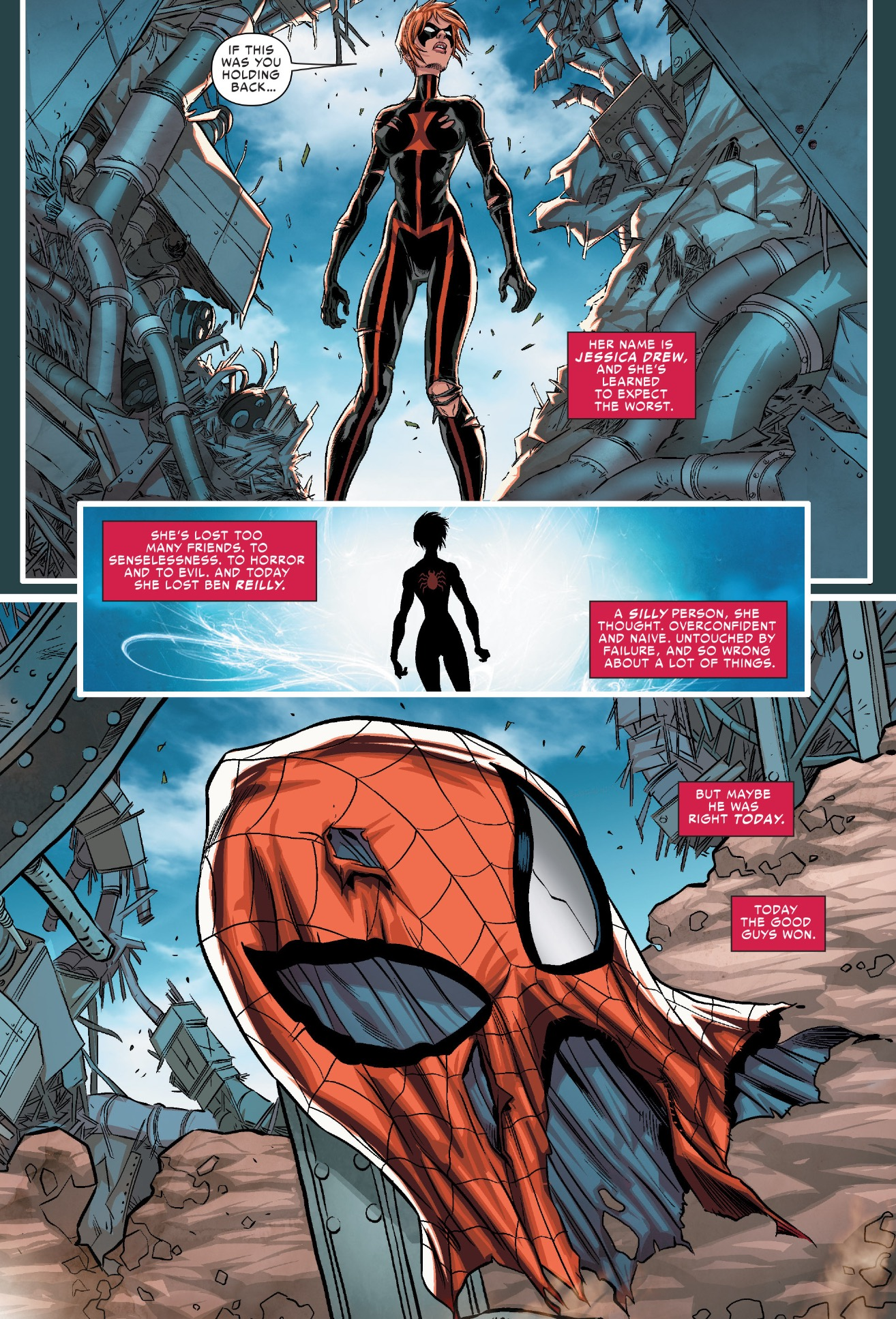 scarlet spiders 3 scattered moments