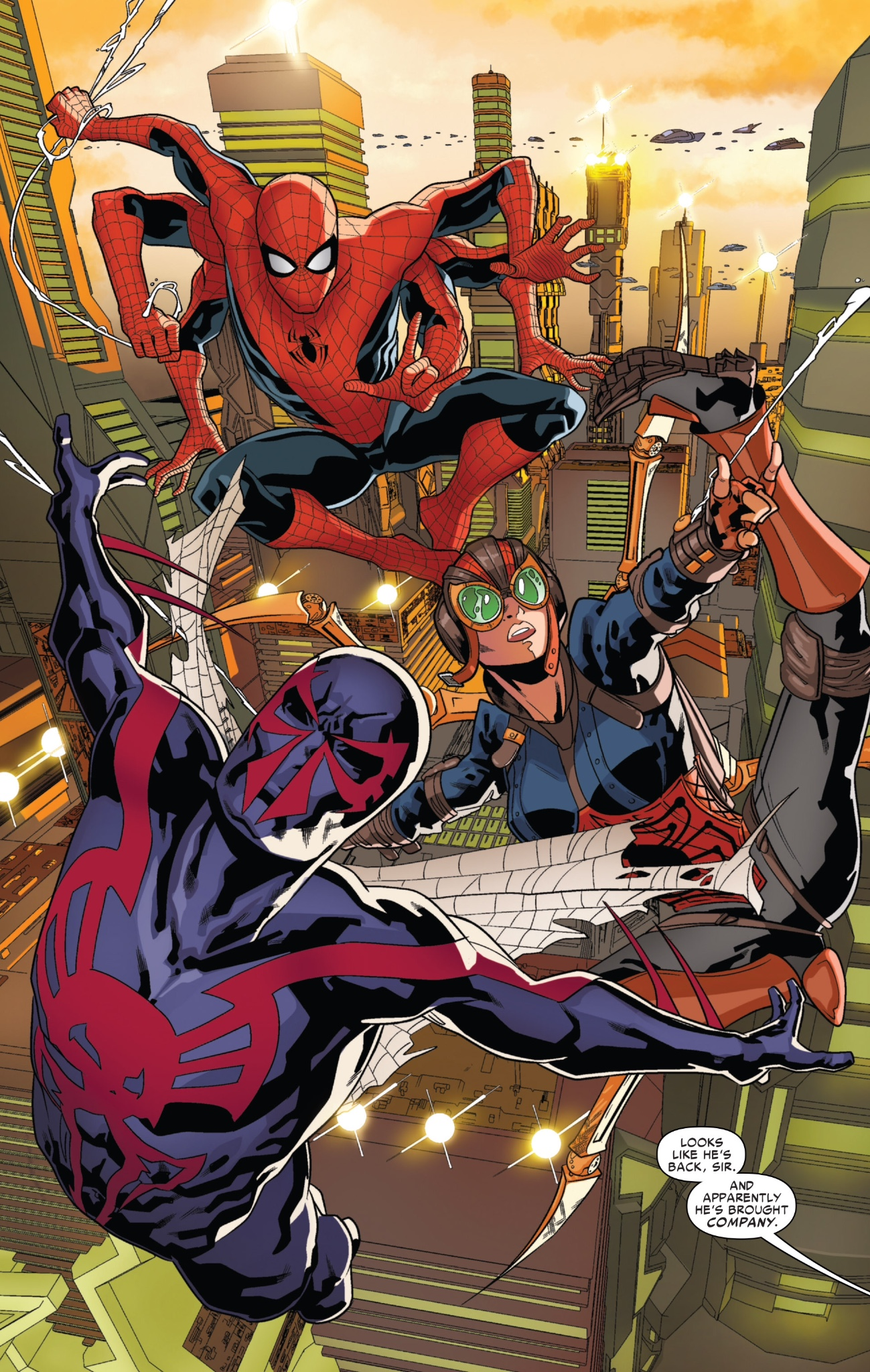Spider Man 2099 6 An All Too Familiar Template