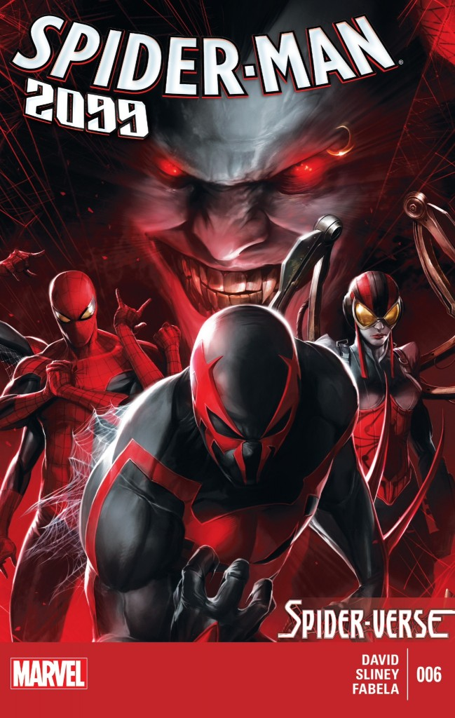 Spider-Man 2099 6 cover