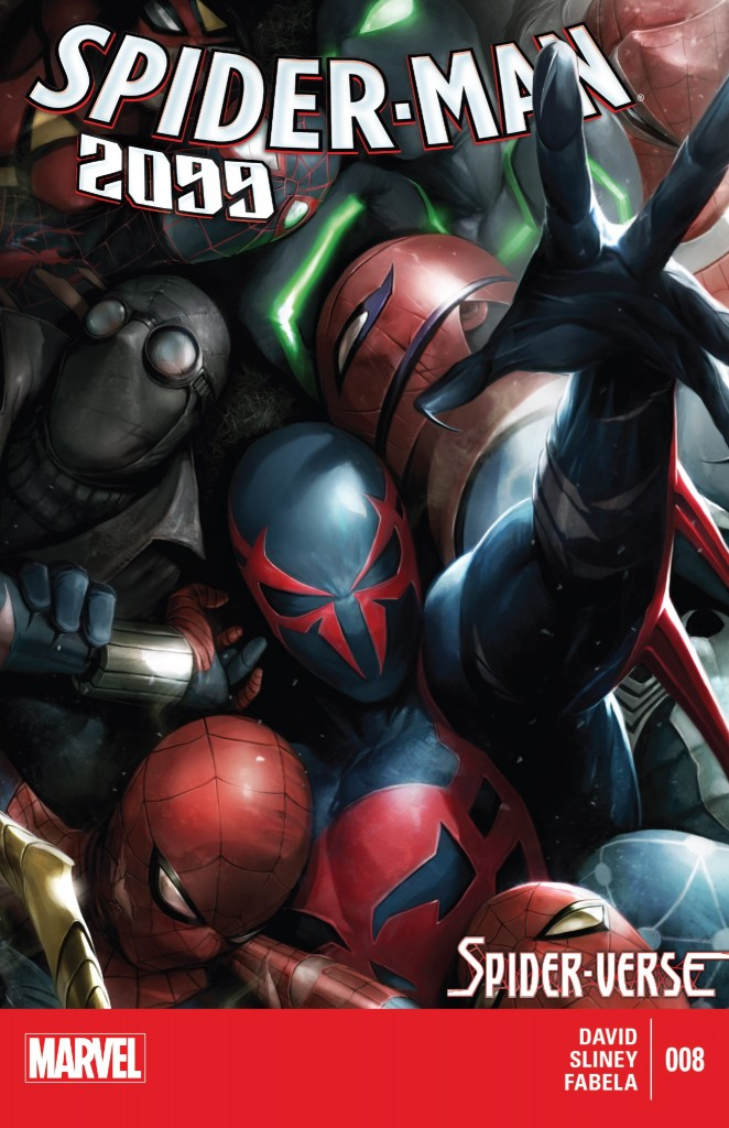 Spider-Man 2099 8 cover