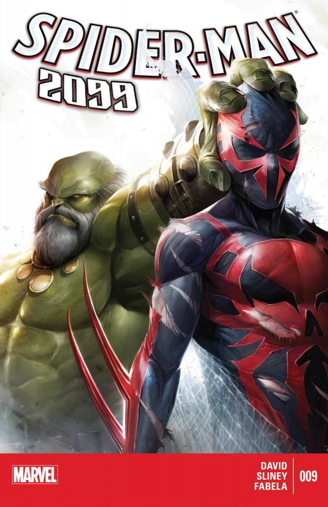 Spider-Man 2099 9 cover