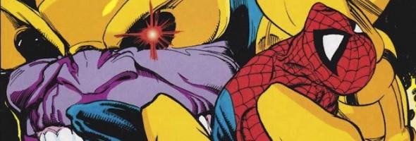 Spider-Man Thanos banner