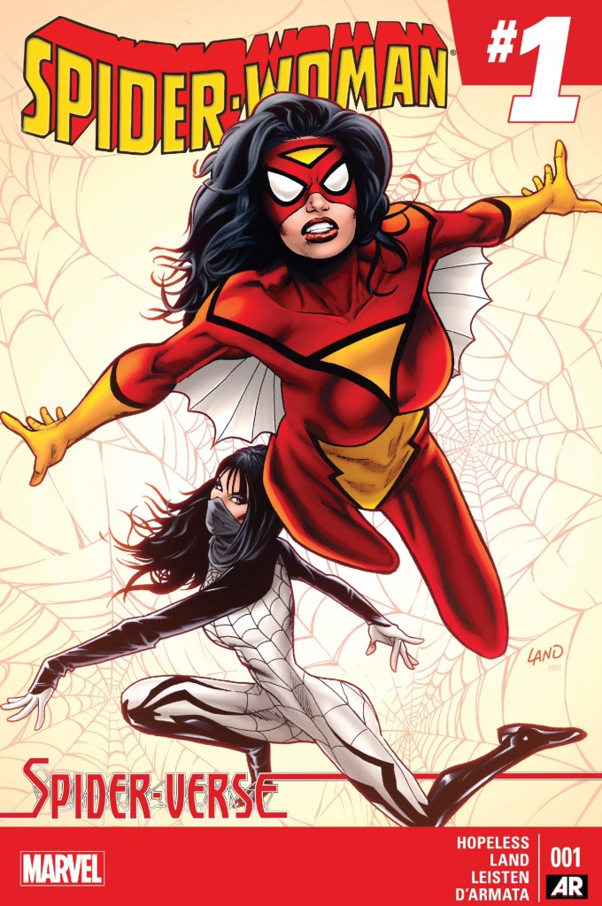 Spider-Woman 1 cover