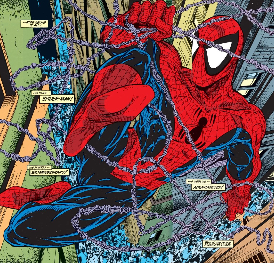 picture pages todd mcfarlane spider man art. Black Bedroom Furniture Sets. Home Design Ideas