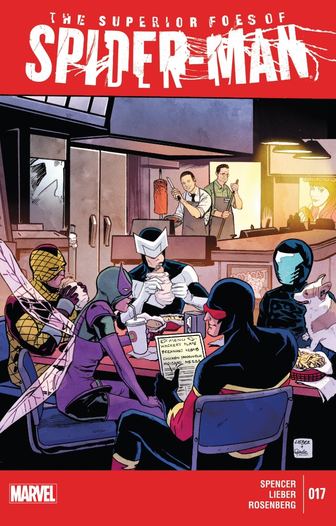 Superior Foes 17 cover