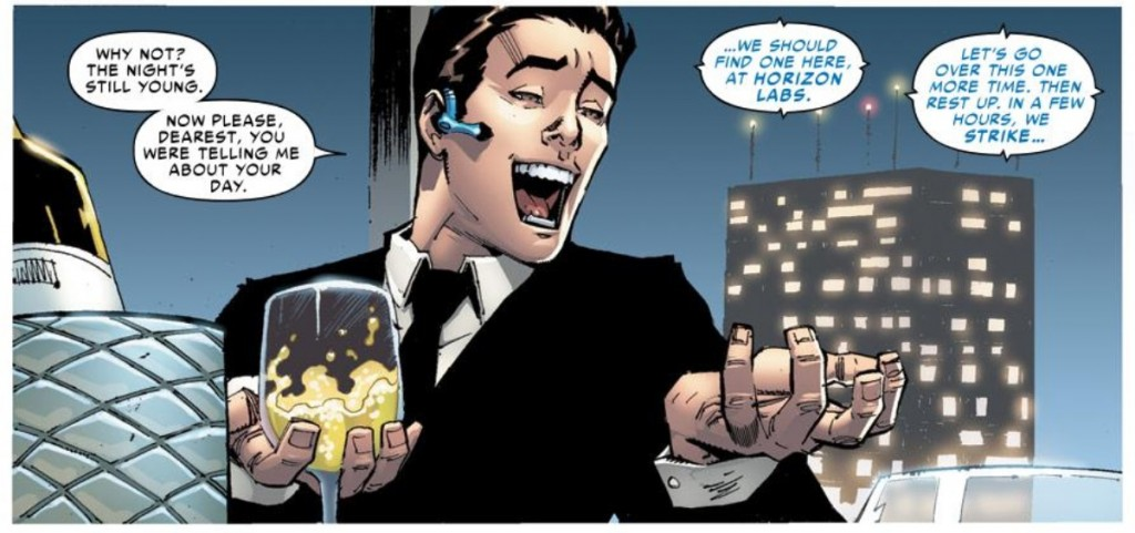 "It's ""Peter Parker"" from Superior Spider-Man #1"