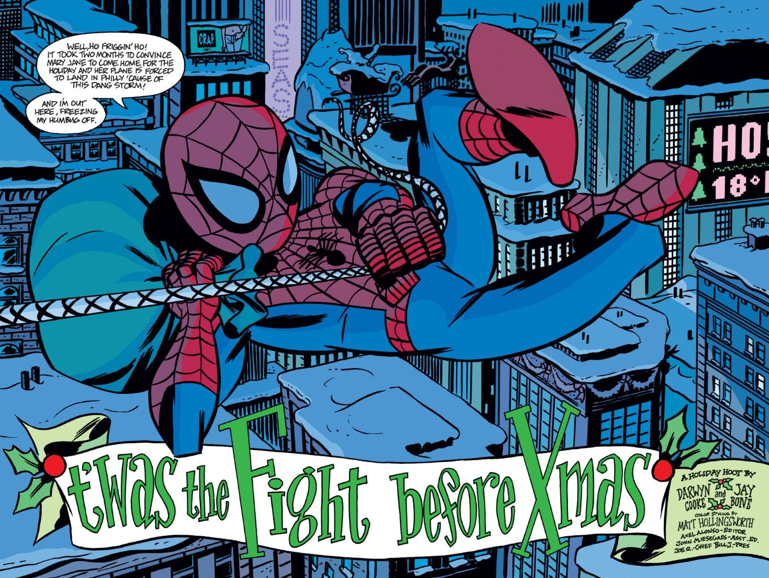 Spider-Man Tangled Web #21 and a Holly Jolly Christmas Issue