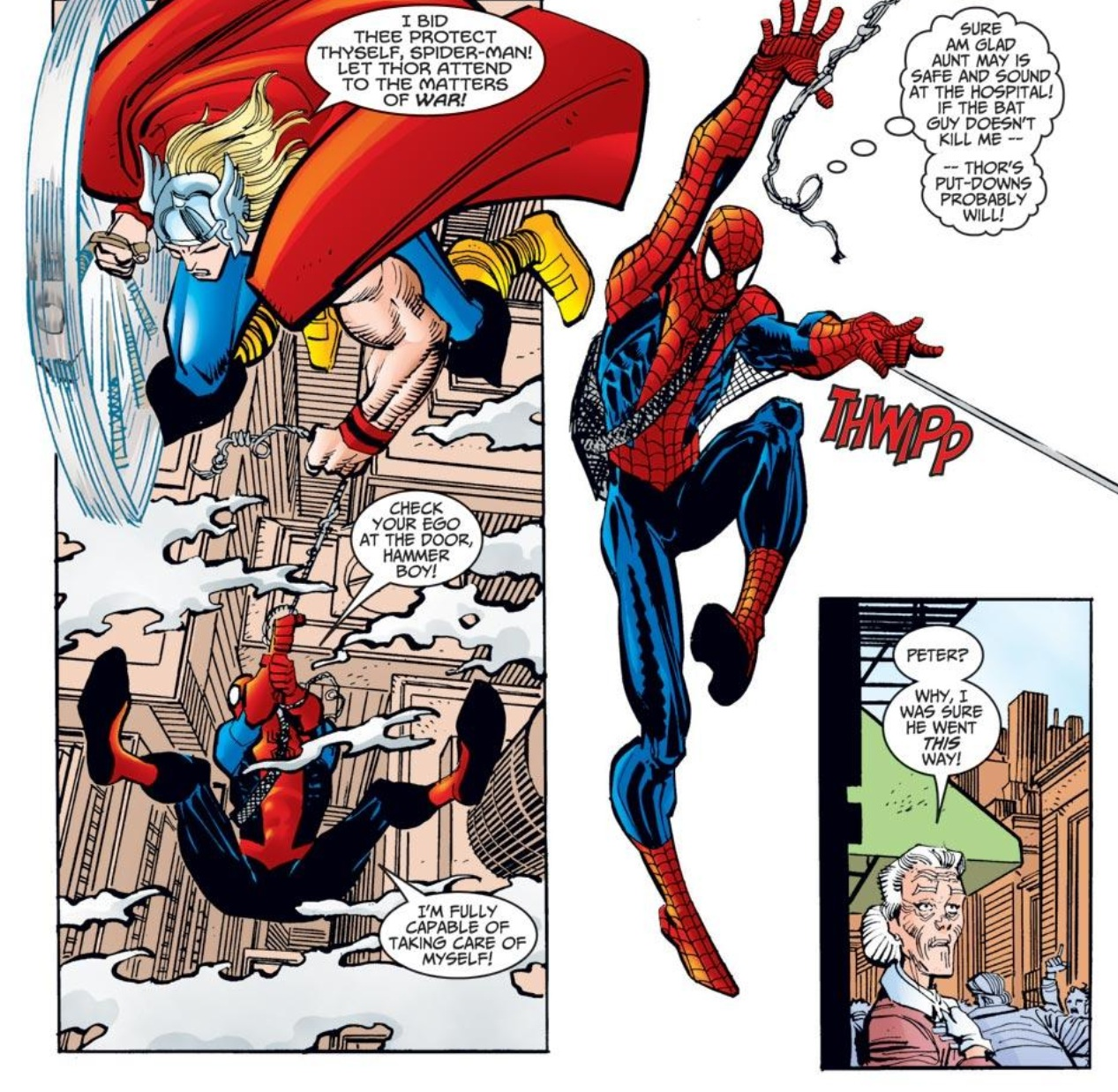 Thor and the Inferior Spider-Man