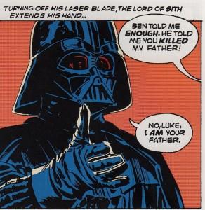Vader luke father