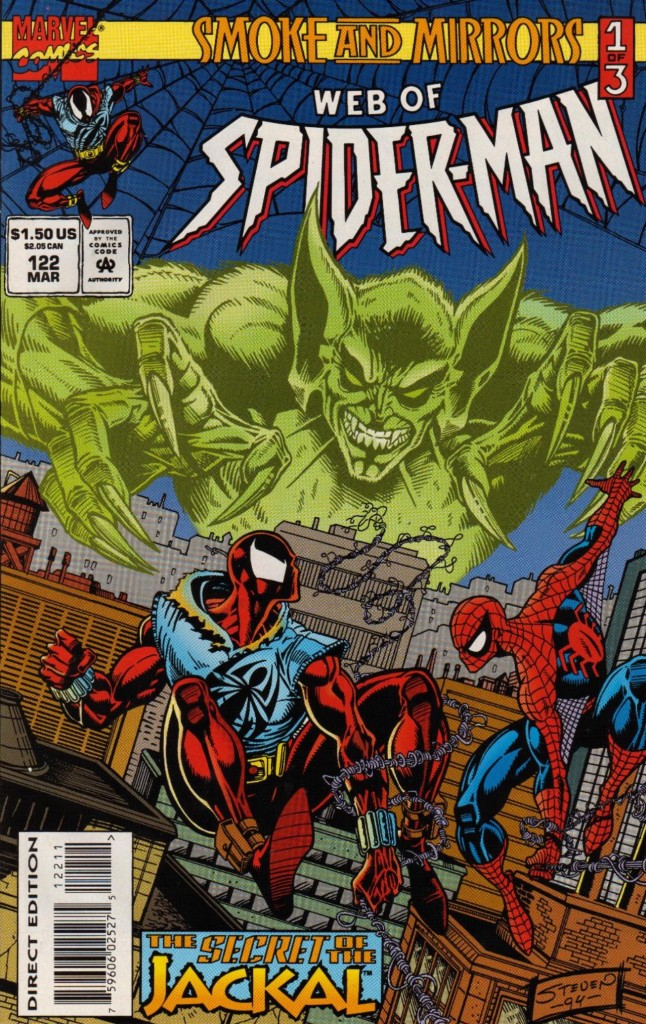 Web of Spider-Man 122 cover