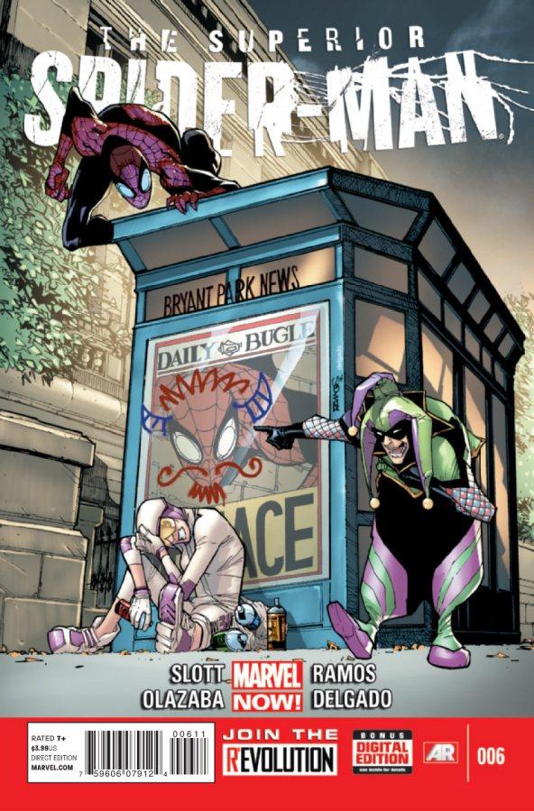 Superior Spiderman 6 cover