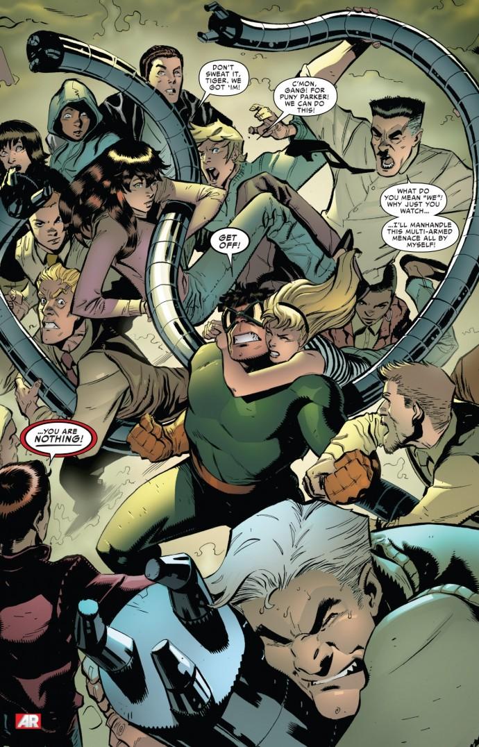 Image from Superior Spider-Man #9: Dan Slott, Ryan Stegman & Victor Olazaba