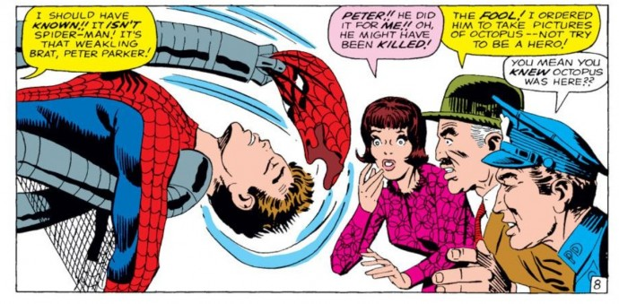 From Amazing Spider-Man #12: Stan Lee & Steve Ditko