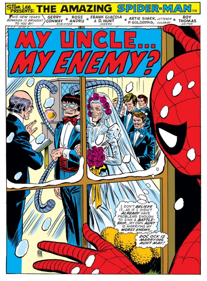 Image from Amazing Spider-Man #131: Gerry Conway, Ross Andru, Frank Giacoia & D. Hunt