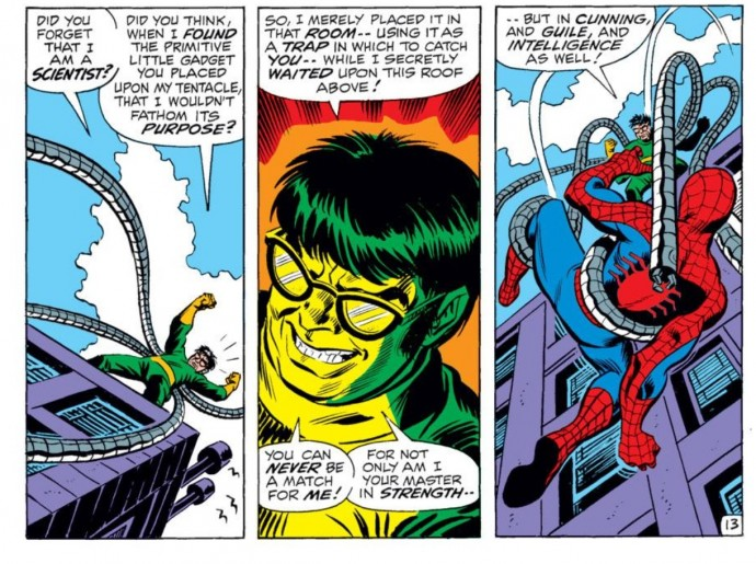 Image from Amazing Spider-Man #90: Stan Lee, Gil Kane & John Romita Sr.