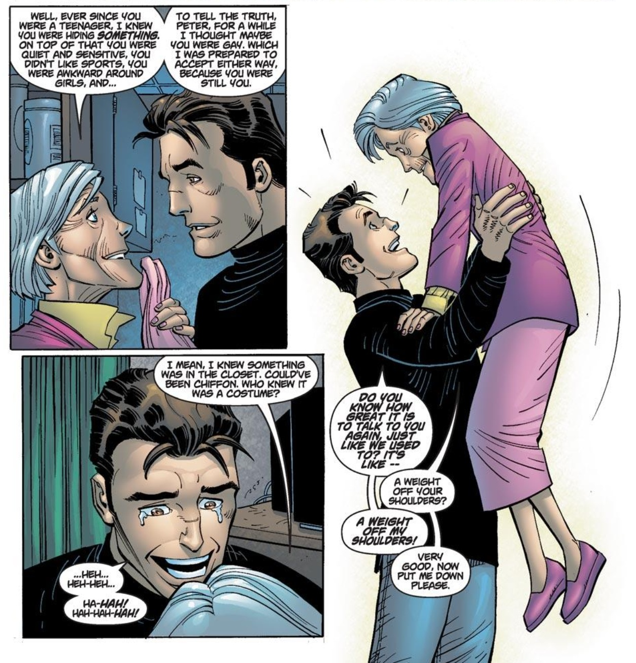 Amazing Spider-Man #38 (vol. 2) and Peter and May's Shining Moment
