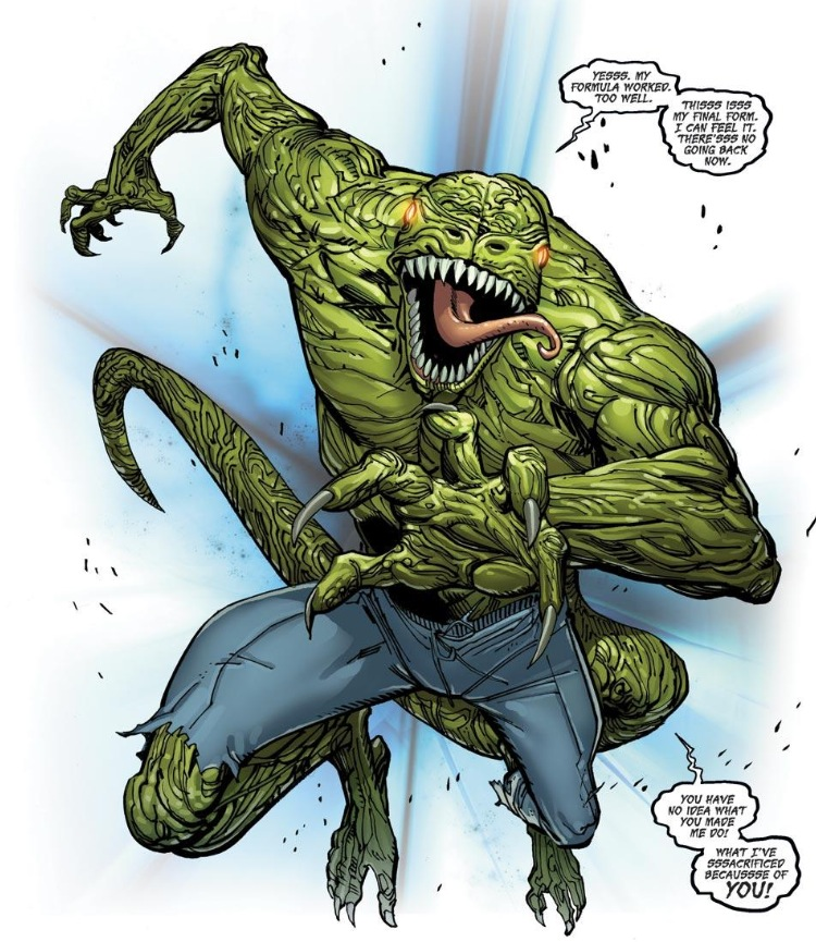 The Lizard from Amazing Spider-Man #691