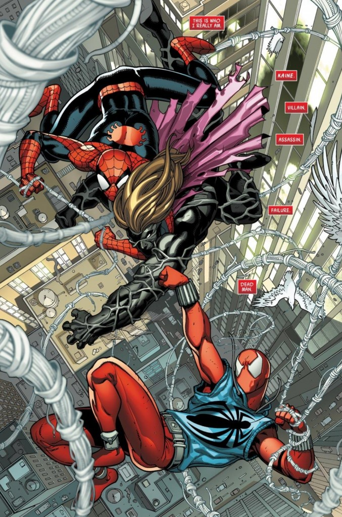 Revisiting the Clone Saga in Scarlet Spider #1
