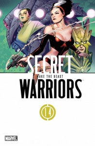 Secret Warriors 14 cover