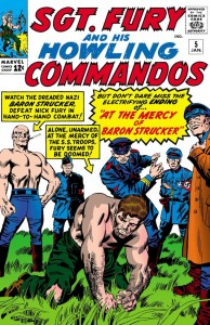 Sgt Fury 5 cover