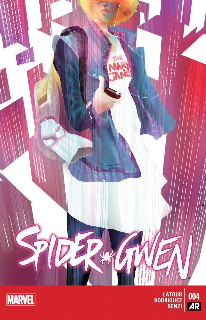 Spider-Gwen 4 cover