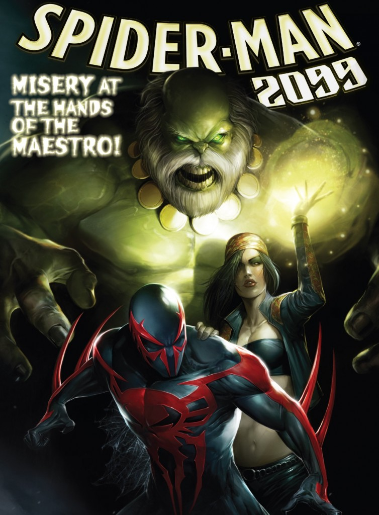 Spider-Man 2099 10 cover