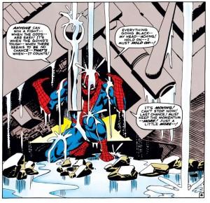 Spider-Man-Rubble