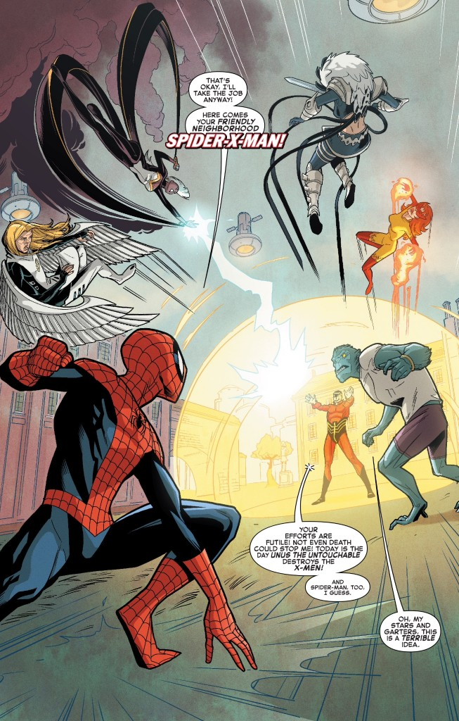 Spider-Man X-Men 1 01