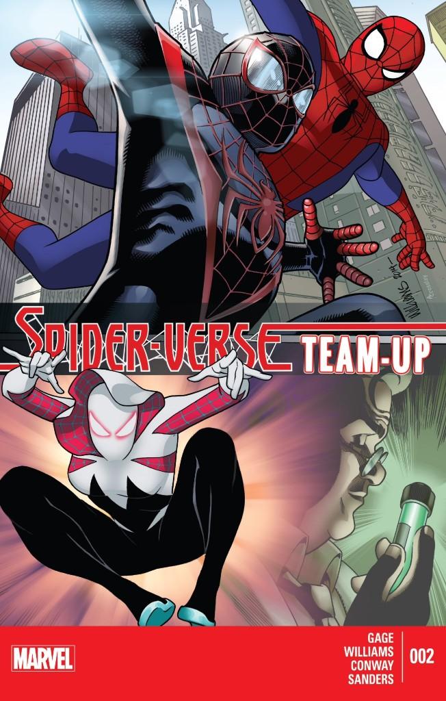 Spider Verse TU 2 cover
