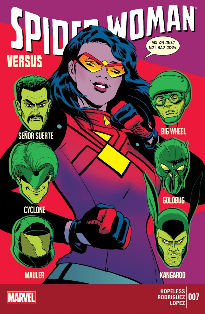 Spider Woman 7 cover