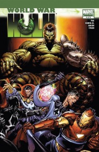World War Hulk 4 cover