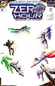 Zero Hour 1 cover